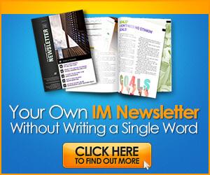 The Internet Marketing Newsletter PLR Membership