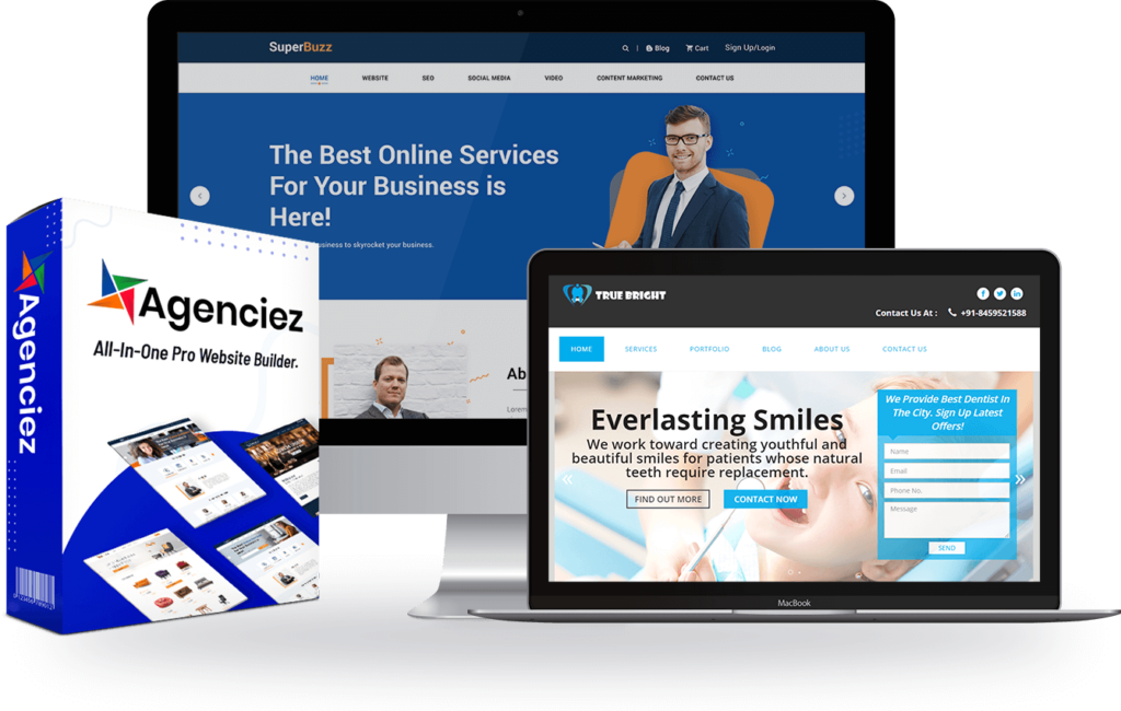 Agenciez OTO 1, 2, 3, 4, 5 Links UPSELLs UPGRADEs Review Demo Bonuses WalkThrough Software By Dr. Amit Pareek