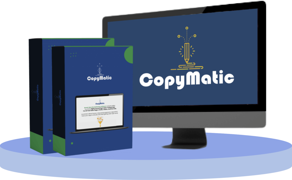 CopyMatic OTO UPSELLs OTOs Links CopyMatic Software Review