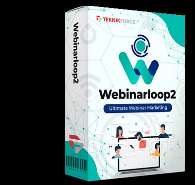 WebinarLoop 2 OTO UPSELL Review By Cyril Gupta [Teknikforce]